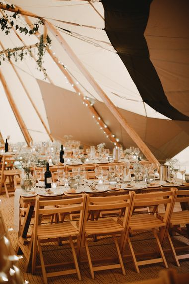 Rustic Tipi Wedding | Holkham Hall Norfolk Wedding Venue | How to Theme Your Wedding to Compliment Your Wedding Venue  | Tori Hancock Photography