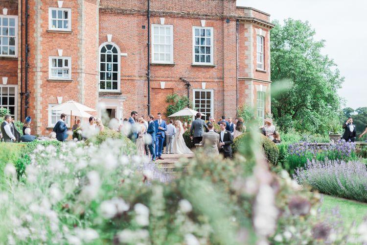 Romantic Blush Pink, Black Tie Wedding at Iscoyd Park, Shropshire | Alvina Valenta Bridal Gown | ASOS Bridesmaid Dresses | Jo Bradbury Fine Art Photography