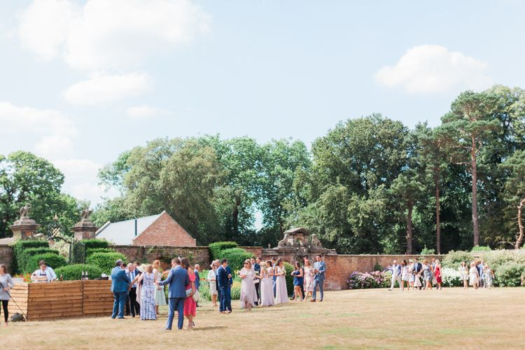 English Country Garden Wedding at Dorfold Hall
