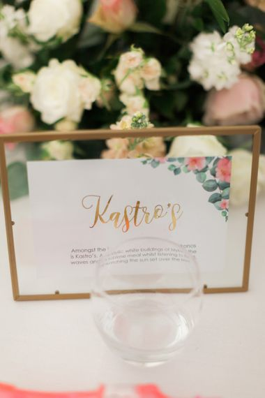 Pastel Pink and Green Wedding Stationery