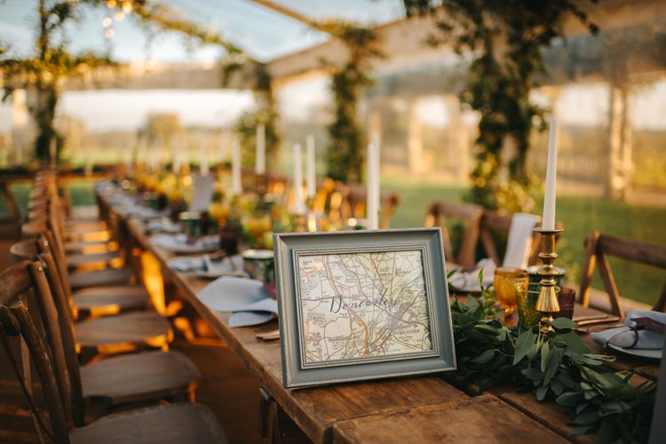 Map Table Name in Grey Frame