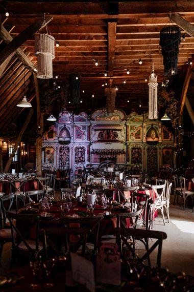 Mechanical organs at Preston Court wedding venue in Kent
