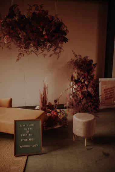 粉色的粉色婚礼