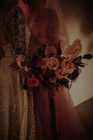 粉色玫瑰和玫瑰玫瑰