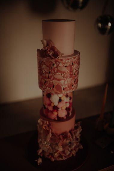 一个漂亮的纸杯蛋糕和蛋糕的纸杯蛋糕