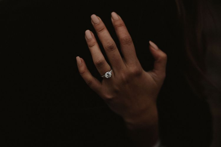 Diamond Engagement Ring // Image By James Frost Photography