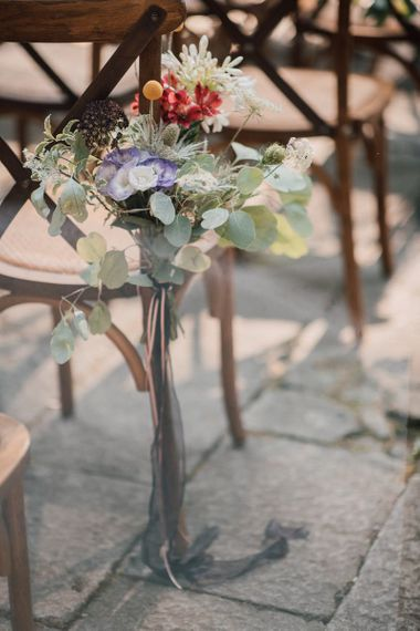Wedding chair decor