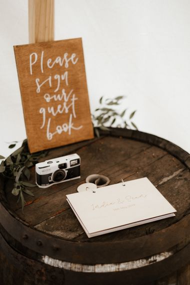 Alternative Guestbook Ideas With Disposable Camera