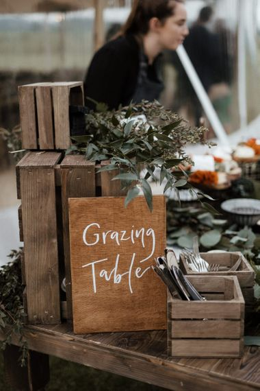 Grazing Table Wooden Sign