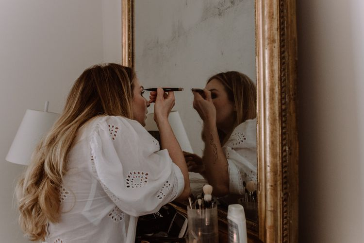 Make Up Artist Bride // Image By Marine Marques Photographe