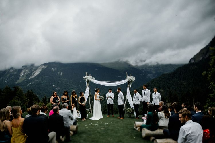Wedding Ceremony in the French Alps
