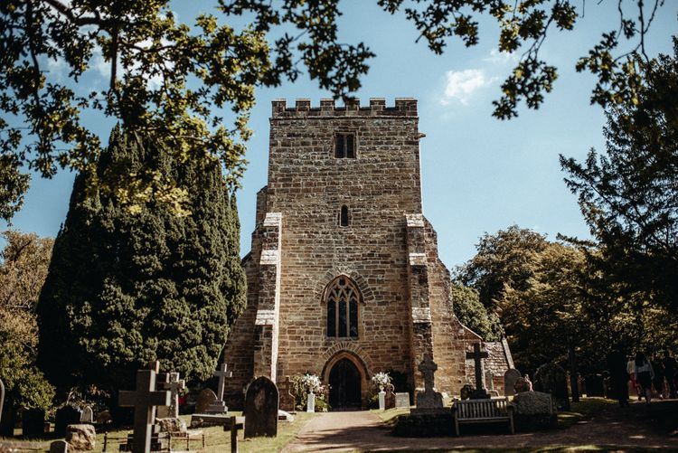 Church Wedding Ceremony | Classic Country Wedding at Wadhurst Castle, East Sussex with Wedding Suppliers from RMW. The List | Foto Memories Photography