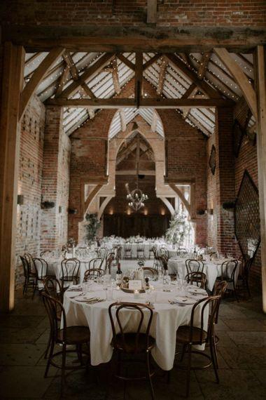 Wedding Reception at Shustoke Barn Wedding Venue in Warwickshire