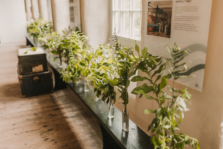 Foliage And Plant Filled Industrial Wedding At Gibson Mill And The Arches Dean Clough Yorkshire With Images From Lianne Gray Photography