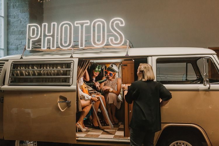 Wedding Photo Booth  / Image By Lianne Gray Photography