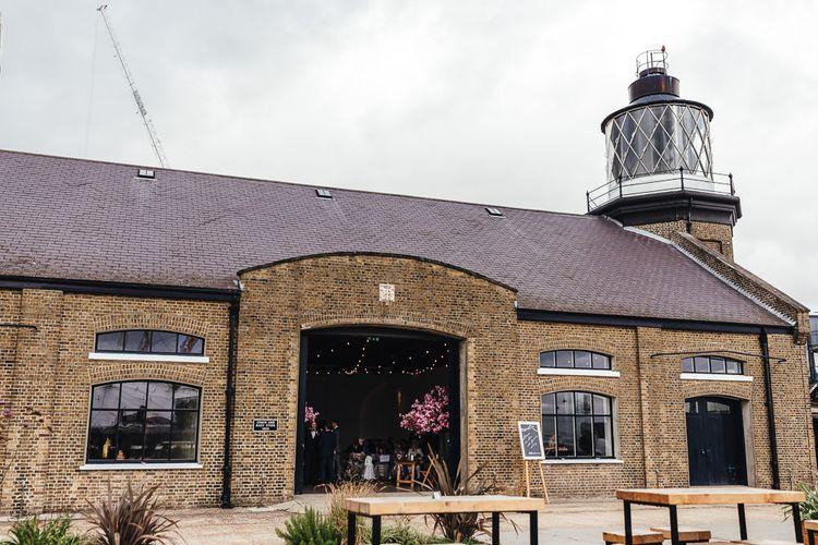 Trinity Buoy Wharf dry hire wedding venue in London