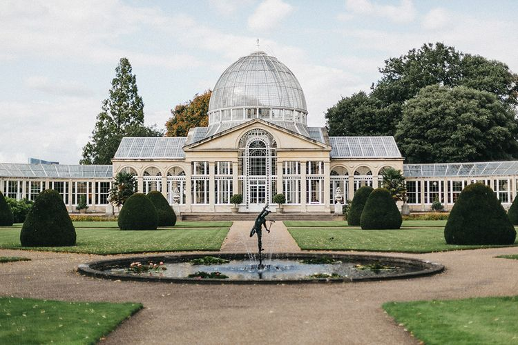 The Great Conservatory at Syon Park | Stunning Syon Park Wedding with Quill Stationery Suite | Nancy Ebert Photography