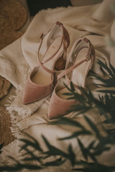Pink Suede Justeneshoes