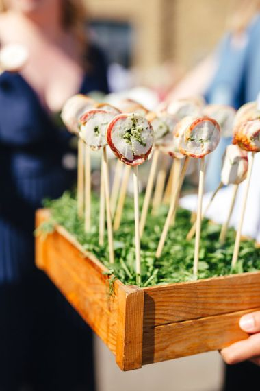 Wedding Canapes on a Stick