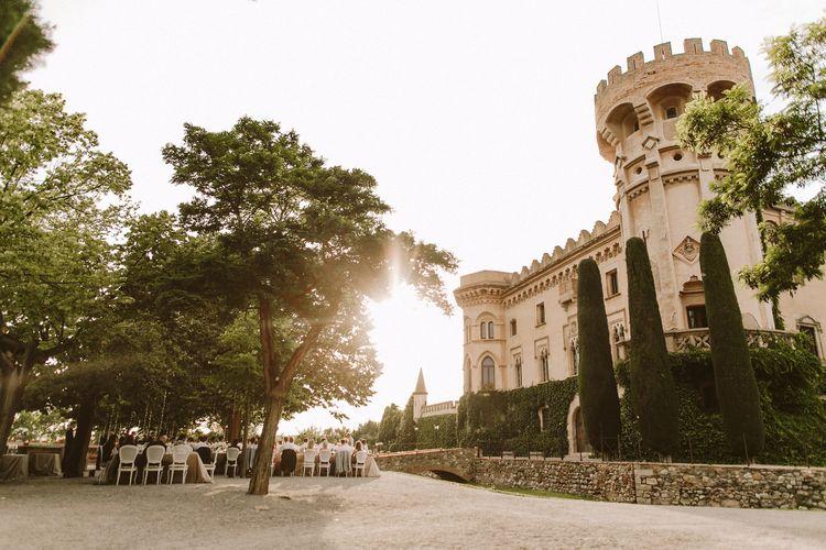 Castell de SantMarçal婚礼地点在巴塞罗那