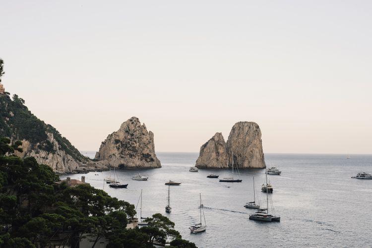 Capri Coastal Scenery