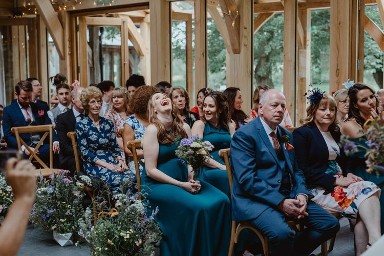 Guests Enjoy The Ceremony