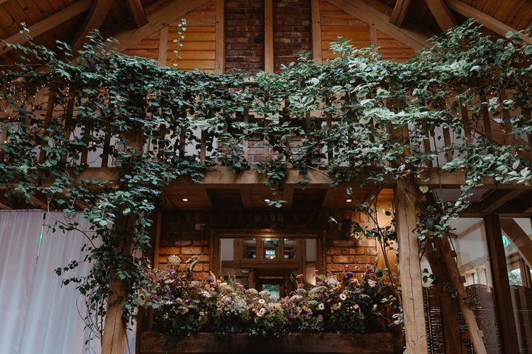 Cheshire Wedding Venue Foliage and Floral Decoration