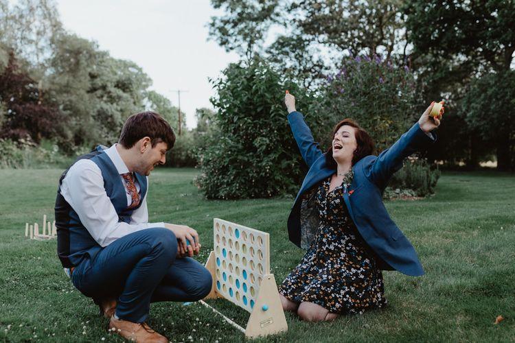 Guests Enjoy Giant Garden Games