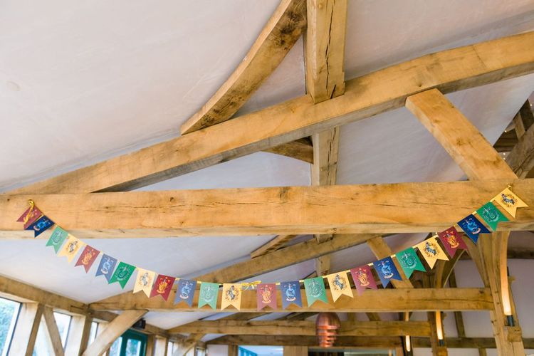 Harry Potter Wedding Theme House Banner Bunting