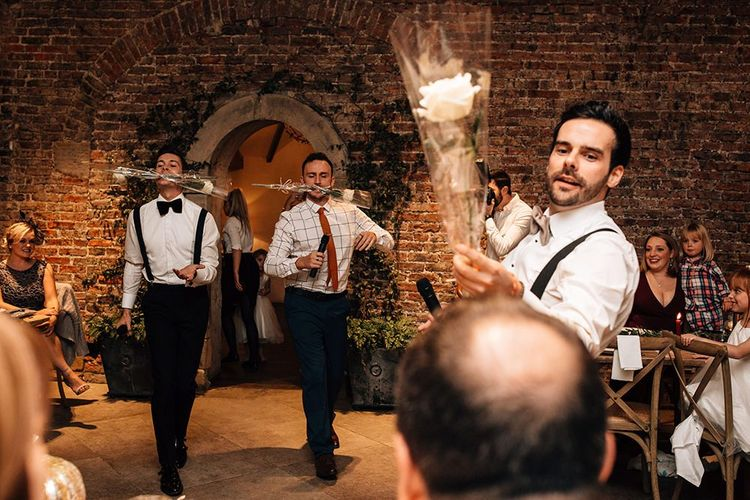 Groomsmen Wedding Entertainers
