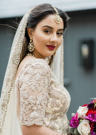 Bridal beauty and makeup