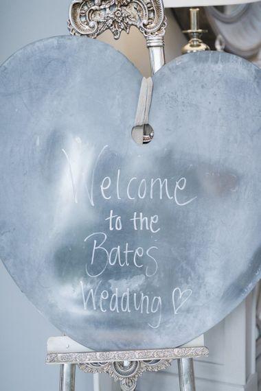 Personalised wedding decor