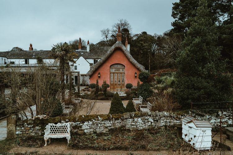 Winter wedding at Le Petit Chateau in Northumberland