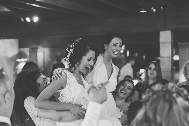 First Dance // Le Petit Chateau Northumberland Wedding Venue For Fun Wedding With Two Brides And Images From Willo Photography