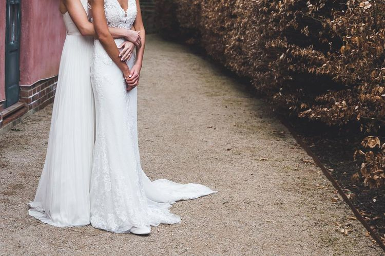 Le Petit Chateau Northumberland Wedding Venue For Fun Wedding With Two Brides And Images From Willo Photography