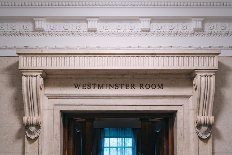 Westminster room at Old Marylebone Town Hall, London