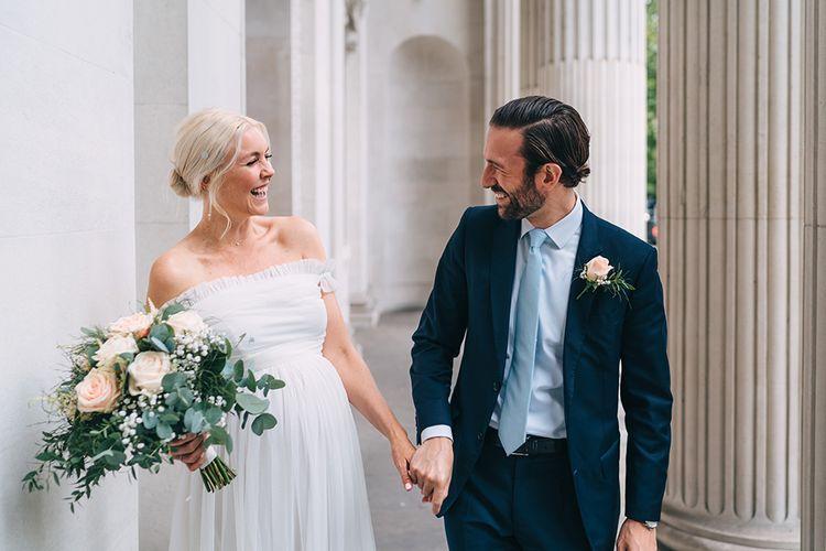 Lockdown wedding at Old Marylebone Town Hall