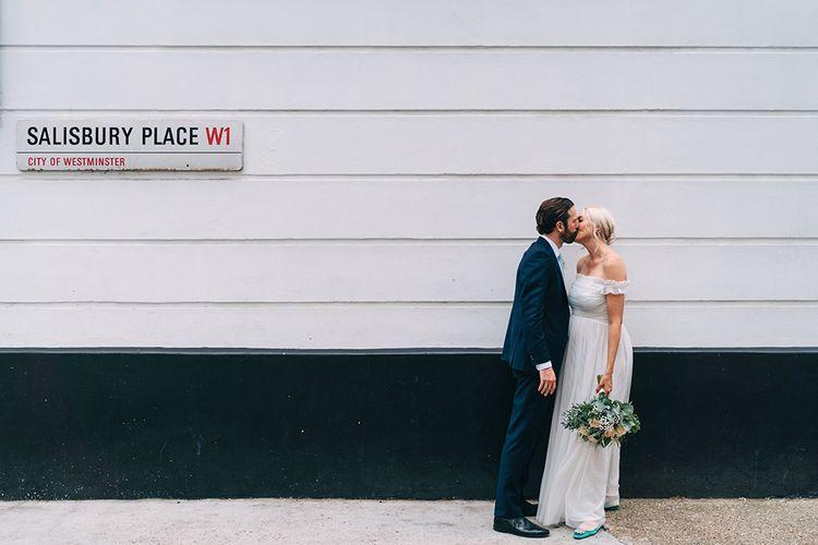 Intimate London wedding elopement by Miss Gen