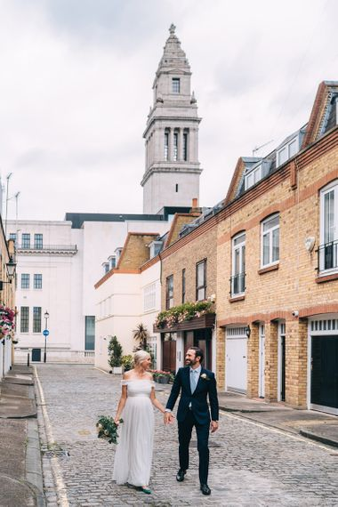 Intimate London elopement