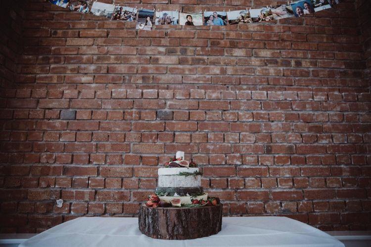 Outdoor Woodland Wedding at The Green Cornwall | Paper Crane & Chinese Lantern Wedding Decor | Appliqué Bodice Wedding Dress | Ben Selway Photography