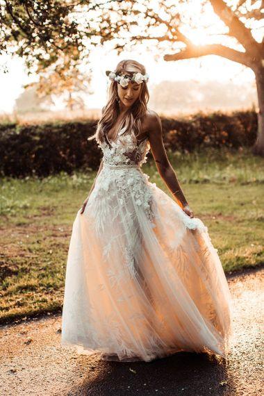 Lace Riki Dalal Bride Dress