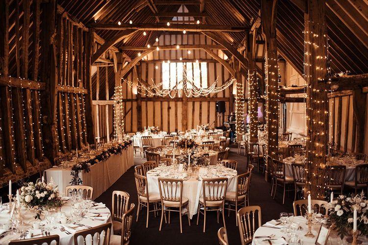 Rustic Barn Wedding Decoration In Essex