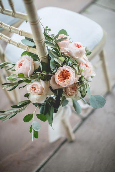 Pastel wedding bouquet for bride