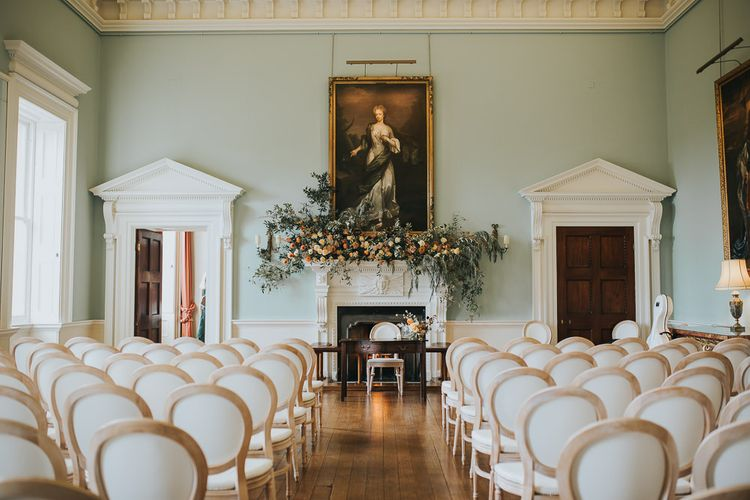 Wedding Ceremony Room At Oxfordshire Wedding Venue