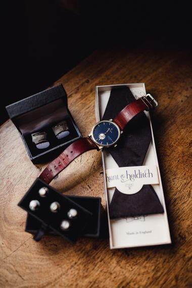 Watch and Other Groom Accessories For Wedding Day