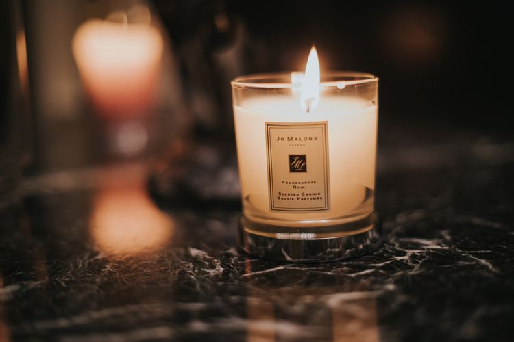 Jo Malone Candles Burn During Reception