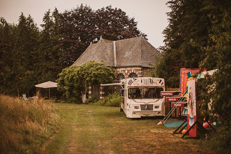 Street Food Van and Carnival Games escape to the chateau