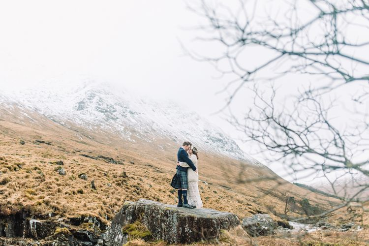Glencoe Scotland Elopement Shoot From The Gibsons Photography