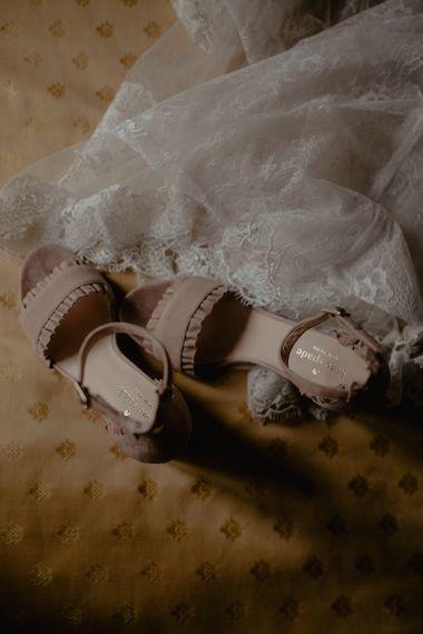 Kate Spade Blush Pink Wedding Shoes