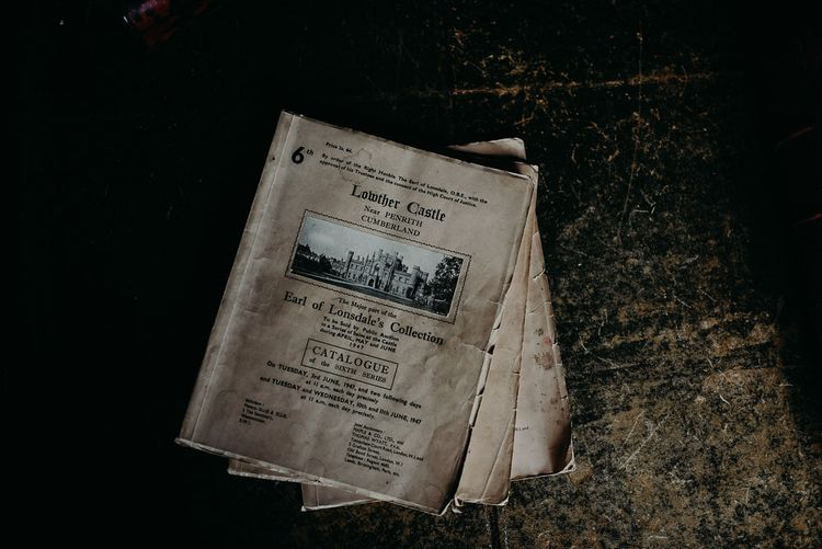 Antique newspapers